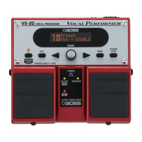 ROLAND VE-20 VOCAL PERFORMER  BOSS gauche