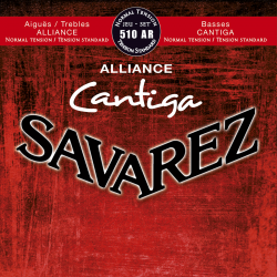 SAVAREZ ALLIANCE CANTIGA TENSION NORMALE ROUGE 510AR SAVAREZ gauche