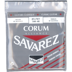 SAVAREZ CORUM ALLIANCE ROUGE TENSION NORMALE 500AR SAVAREZ dessus