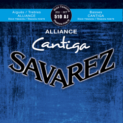 SAVAREZ ALLIANCE CANTIGA TENSION FORTE BLEU 510AJ SAVAREZ