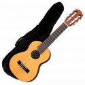 photo de GL1 GUITARE UKULELE 6 CORDES NATURELLE + HOUSSE YAMAHA gauche