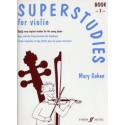 photo de COHEN / SUPER STUDIES FOR VIOLIN BOOK 1 ID MUSIC arriere