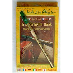 TIN WHISTLE TWIN PACK + CD Editions WALTONS