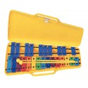 photo de CARILLON 25 LAMES COLOREES + ETUI GEWA