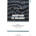 photo de LABROUSSE / REPERTOIRE DE MELODIES VOL 1 Editions HENRY LEMOINE