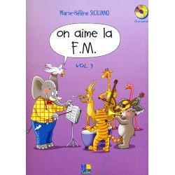 SICILIANO / ON AIME LA FM VOL 3 CD Editions H CUBE face