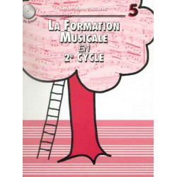 SICILIANO / FORMATION MUSICALE EN 2EME CYCLE VOL 5 Editions H CUBE gauche