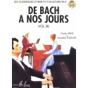 photo de HERVE - POUILLARD / DE BACH A NOS JOURS VOL 3B Editions HENRY LEMOINE arriere