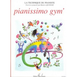 QUONIAM / PIANISSIMO GYM Editions HENRY LEMOINE
