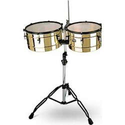 TIMBALES LATINES MARATHON CUIVRE MEINL arriere