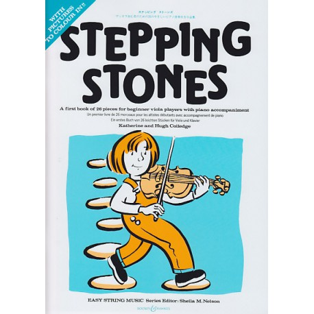 STEPPING STONES ALTO Editions BOOSEY and HAWKES face