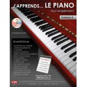 photo de ASTIE / J APPREND LE PIANO VOL2 Editions F2M arriere