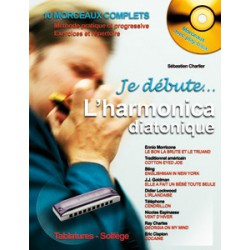 JE DEBUTE L HARMONICA DIATONIQUE + CD / CHARLIER HIT DIFFUSION