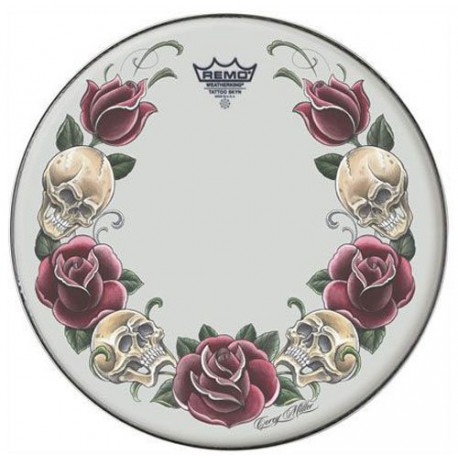 PEAU AMBASSADOR X TATTOO SKYN ROCK AND ROSE 14  REMO arriere