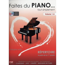 FAITES DU PIANO VOL.1-A Editions F2M