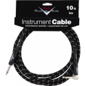 photo de Custom Shop Performance Series Cable, 10 black coudé FENDER gauche