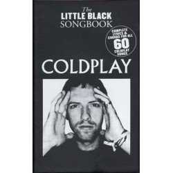 COLDPLAY LITTLE BLACK SONGBOOK 60 SONGS Editions MUSIC SALES