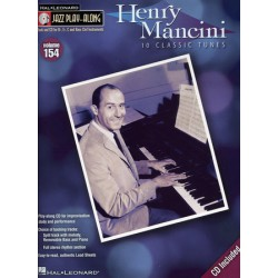 JAZZ PLAY ALONG VOL.154 HENRY MANCINI Bb, Eb, C INST. CD Editions HAL LEONARD face