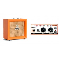 Micro Crush, combo guitare CR3 ORANGE face