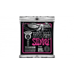 Coated Electric Titanium RPS Super Slinky, 9-42 ERNIE BALL cote