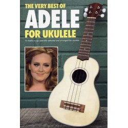ADELE VERY BEST OF FOR UKULELE Editions WISE PUBLICATIONS droite