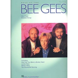 BEE GEES BEST OF PVG EASY PIANO Editions HAL LEONARD