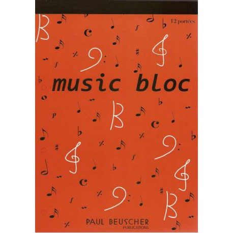 BLOC GRAND FORMAT 96 PAGES 12 PORTEES  HIT DIFFUSION arriere