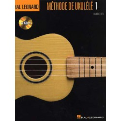METHODE DE UKULELE VOL 1 + CD Editions HAL LEONARD face