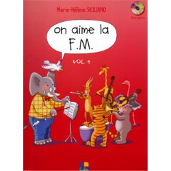 SICILIANO / ON AIME LA FM VOL 4 Editions H CUBE droite