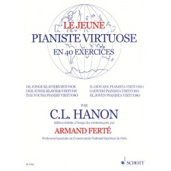 HANON / LE JEUNE PIANISTE VIRTUOSE 40 EXERCICES HEXAMUSIC