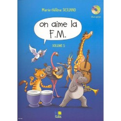 SICILIANO / ON AIME LA FM VOL 5 Editions H CUBE droite