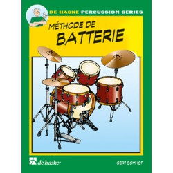 BOMHOF / METHODE DE BATTERIE VOL 1 Editions DE HASKE face