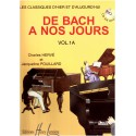 photo de HERVE - POUILLARD / DE BACH A NOS JOURS VOL 1A Editions HENRY LEMOINE face