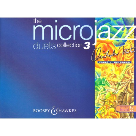 NORTON / MICROJAZZ LEVEL 5 DUETS COLLECTION 3 Editions BOOSEY and HAWKES droite