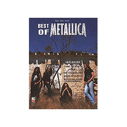 METALLICA/ BEST OF PVG / HAL LEONARD PARTITION arriere