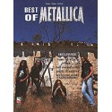 photo de METALLICA/ BEST OF PVG / HAL LEONARD PARTITION arriere
