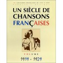 photo de UN SIECLE DE CHANSONS FRANCAISES 1919 - 1929 PAUL BEUSCHER cote