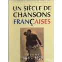 photo de UN SIECLE DE CHANSONS FRANCAISES 1949 - 1959 PAUL BEUSCHER arriere