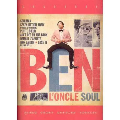 BEN L ONCLE SOUL / SONG BOOK CARISCH dessus