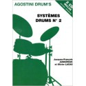 photo de JUSKOWIAK / SYSTEMES DRUMS N°2 + CD CARISCH gauche