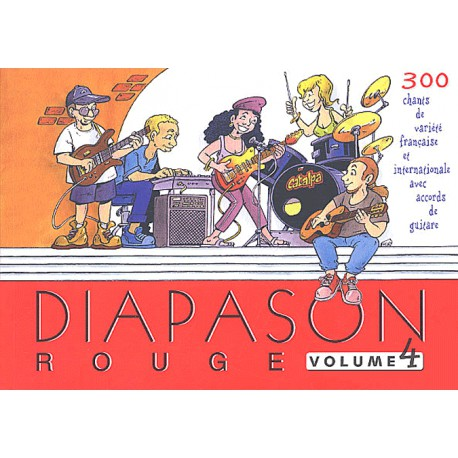 DIAPASON ROUGE VOL 4 Editions PRESSES D ILE DE FRANCE arriere