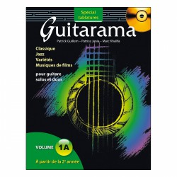 GUITARAMA VOL 1A SPECIAL TAB HIT DIFFUSION arriere