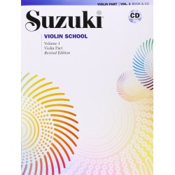 SUZUKI VIOLIN SCHOOL VOL 3 + CD PARTITION droite