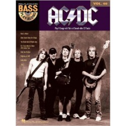 AC/DC / BASS PLAY ALONG + CD PARTITION