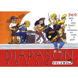 DIAPASON ROUGE VOL 5 Editions PRESSES D ILE DE FRANCE droite