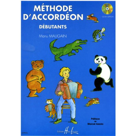 MAUGAIN / METHODE D ACCORDEON DEBUTANTS Editions HENRY LEMOINE cote