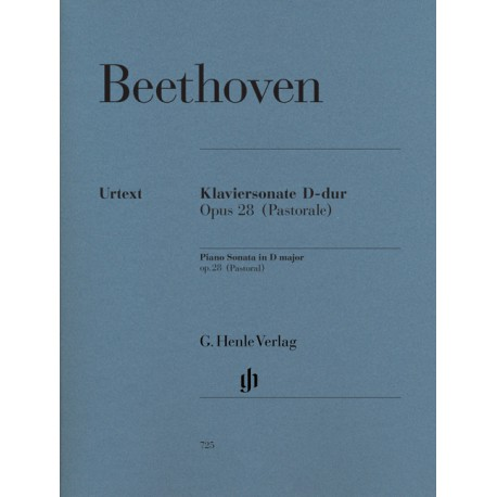 BEETHOVEN / SONATE N° 15 OP 28 / PASTORALE PARTITION gauche