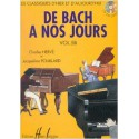photo de HERVE - POUILLARD / DE BACH A NOS JOURS VOL 5B Editions HENRY LEMOINE face