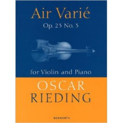 RIEDING / AIR VARIE OP 23 N°3 PARTITION