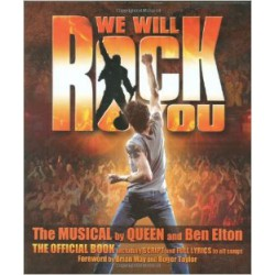 WE WILL ROCK YOU  PARTITION gauche
